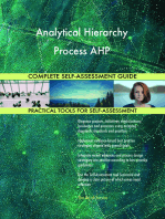 Analytical Hierarchy Process AHP Complete Self-Assessment Guide