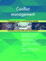 Conflict management Complete Self-Assessment Guide
