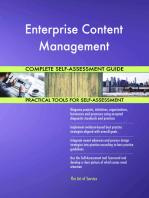 Enterprise Content Management Complete Self-Assessment Guide