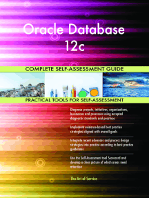 Oracle Database 12c Complete Self-Assessment Guide