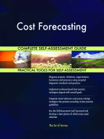 Cost Forecasting Complete Self-Assessment Guide