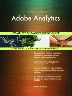 Adobe Analytics Complete Self-Assessment Guide