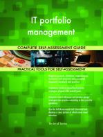 IT portfolio management Complete Self-Assessment Guide