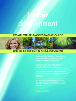 Leader development Complete Self-Assessment Guide