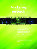 Marketing research Complete Self-Assessment Guide