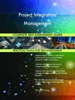Project Integration Management Complete Self-Assessment Guide