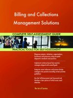 Billing and Collections Management Solutions Complete Self-Assessment Guide