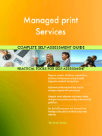 Managed print Services Complete Self-Assessment Guide