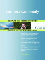 Business Continuity Complete Self-Assessment Guide
