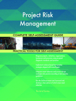 Project Risk Management Complete Self-Assessment Guide