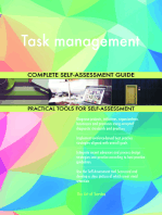 Task management Complete Self-Assessment Guide