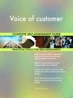 Voice of customer Complete Self-Assessment Guide