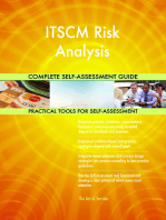 ITSCM Risk Analysis Complete Self-Assessment Guide