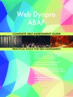Web Dynpro ABAP Complete Self-Assessment Guide