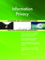 Information Privacy Complete Self-Assessment Guide