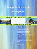 Enterprise Information Management Complete Self-Assessment Guide
