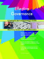 Effective Governance Complete Self-Assessment Guide