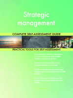 Strategic management Complete Self-Assessment Guide