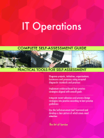 IT Operations Complete Self-Assessment Guide