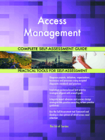Access Management Complete Self-Assessment Guide