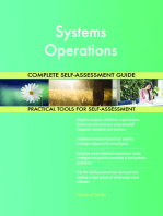 Systems Operations Complete Self-Assessment Guide