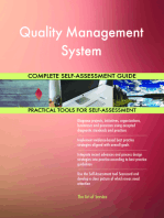 Quality Management System Complete Self-Assessment Guide