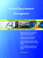 Product Requirements Management Complete Self-Assessment Guide