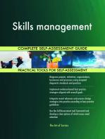 Skills management Complete Self-Assessment Guide