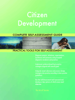 Citizen Development Complete Self-Assessment Guide