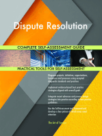 Dispute Resolution Complete Self-Assessment Guide