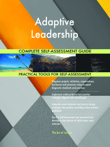 Adaptive Leadership Complete Self-Assessment Guide