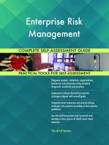 Enterprise Risk Management Complete Self-Assessment Guide