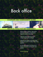 Back office Complete Self-Assessment Guide