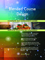 Blended Course Design Complete Self-Assessment Guide