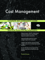 Cost Management Complete Self-Assessment Guide