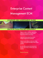 Enterprise Content Management ECM Complete Self-Assessment Guide