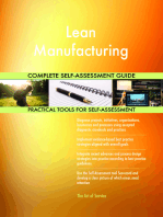 Lean Manufacturing Complete Self-Assessment Guide
