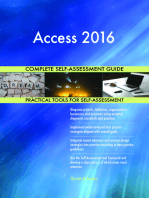 Access 2016 Complete Self-Assessment Guide
