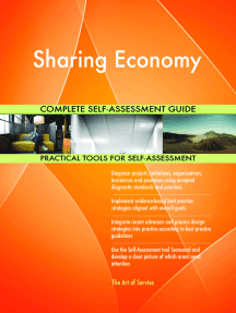 Sharing Economy Complete Self-Assessment Guide