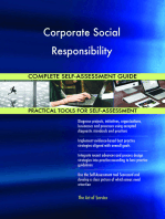 Corporate Social Responsibility Complete Self-Assessment Guide