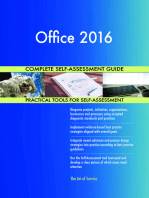 Office 2016 Complete Self-Assessment Guide