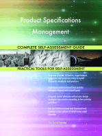 Product Specifications Management Complete Self-Assessment Guide