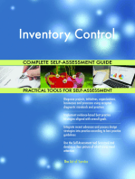 Inventory Control Complete Self-Assessment Guide