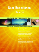 User Experience Design Complete Self-Assessment Guide