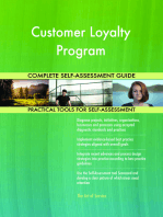 Customer Loyalty Program Complete Self-Assessment Guide