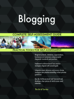 Blogging Complete Self-Assessment Guide