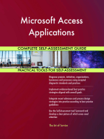 Microsoft Access Applications Complete Self-Assessment Guide