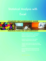 Statistical Analysis with Excel Complete Self-Assessment Guide