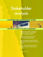 Stakeholder analysis Complete Self-Assessment Guide