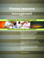 Human resource management Complete Self-Assessment Guide